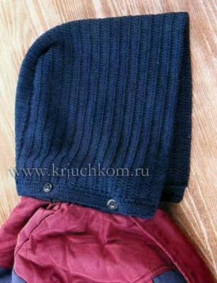 вязание капюшона
