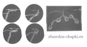 Вязание берета схемы вязания шапки крючком