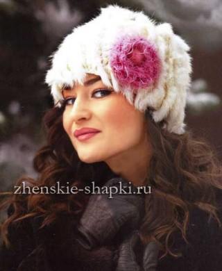Вязание женской шапки