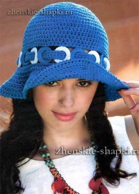 Женская шляпка на лето