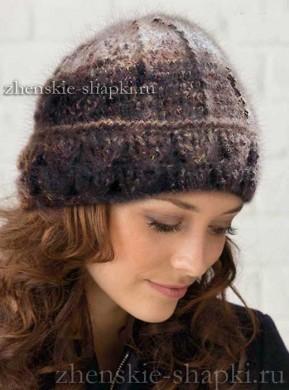 Вязаные зимние шапки