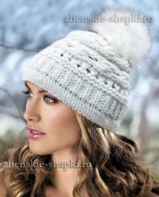 Модные женские шапки 2016