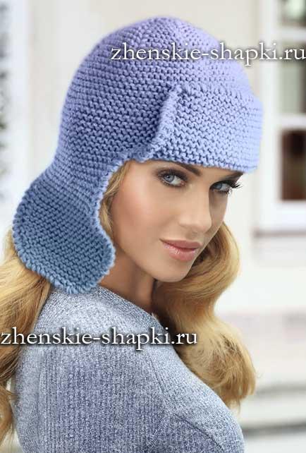 Вязаные шапки для женщин. Схемы вязания 100 99