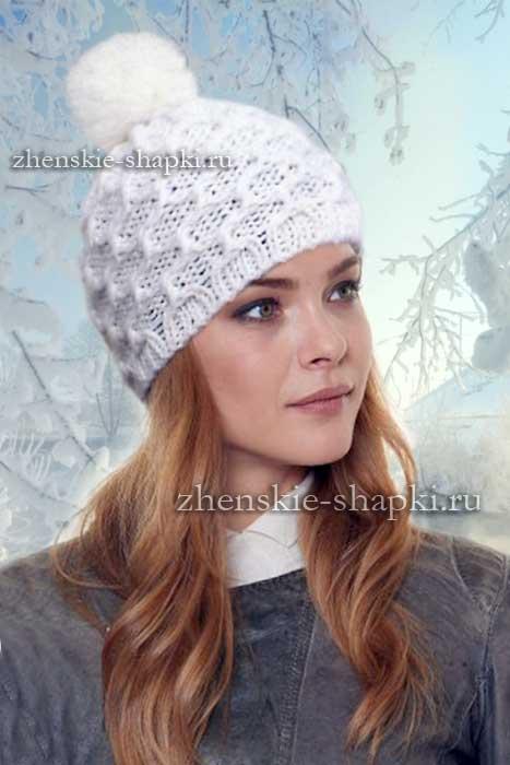 вязаные шапки для женщин схемы вязания 100 моделей женских шапок и